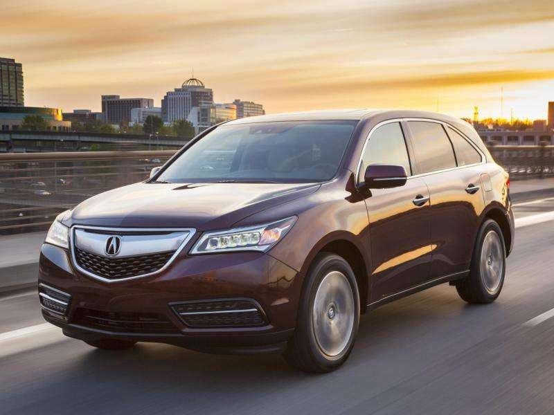 Acura MDX Road Test Review Autobytelcom - Acura mdx review 2014