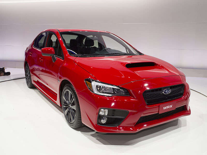2015 Subaru WRX Earns IIHS Top Safety Pick Award
