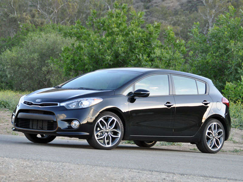 kia forte hatchback 2014 black the image kid has it. Black Bedroom Furniture Sets. Home Design Ideas
