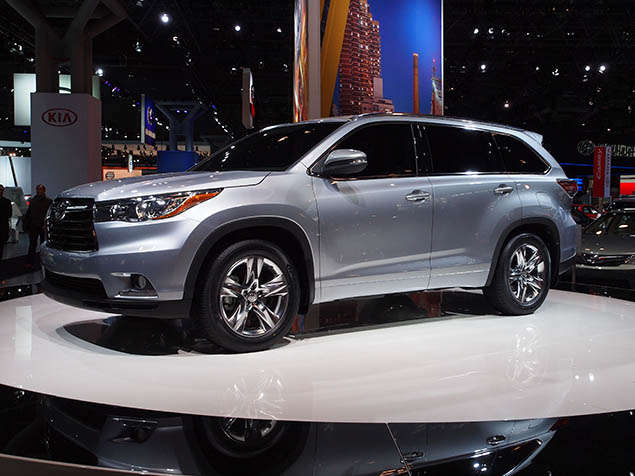 2014 Toyota Highlander Named Activity Vehicle of Texas