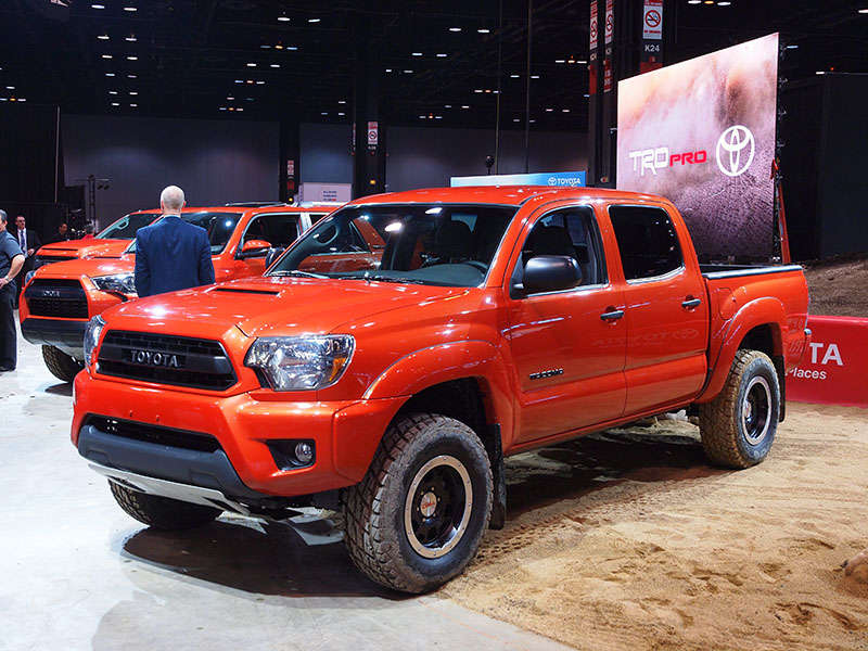 Toyota Tacoma Off Road >> 5 Cool Trucks For 2014 | Autobytel.com