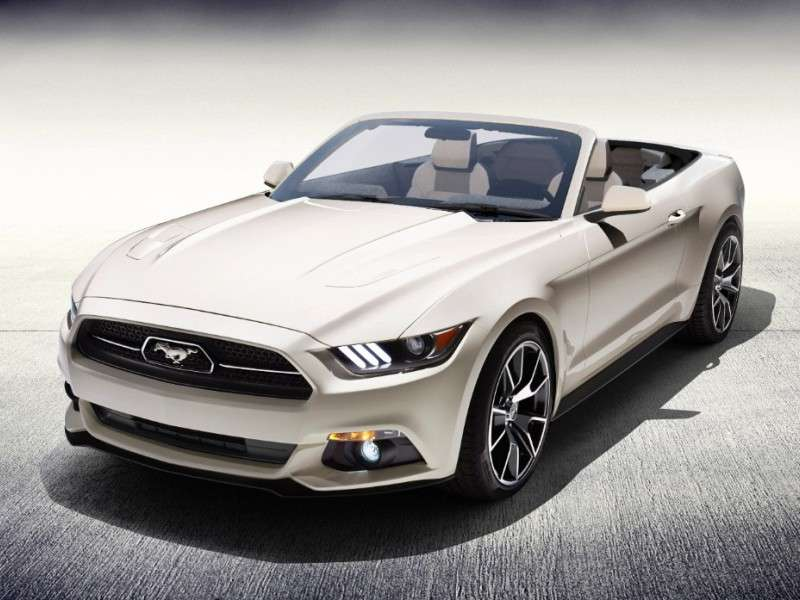 Ford Builds One-Off 50th Anniversary 2015 Mustang Convertible