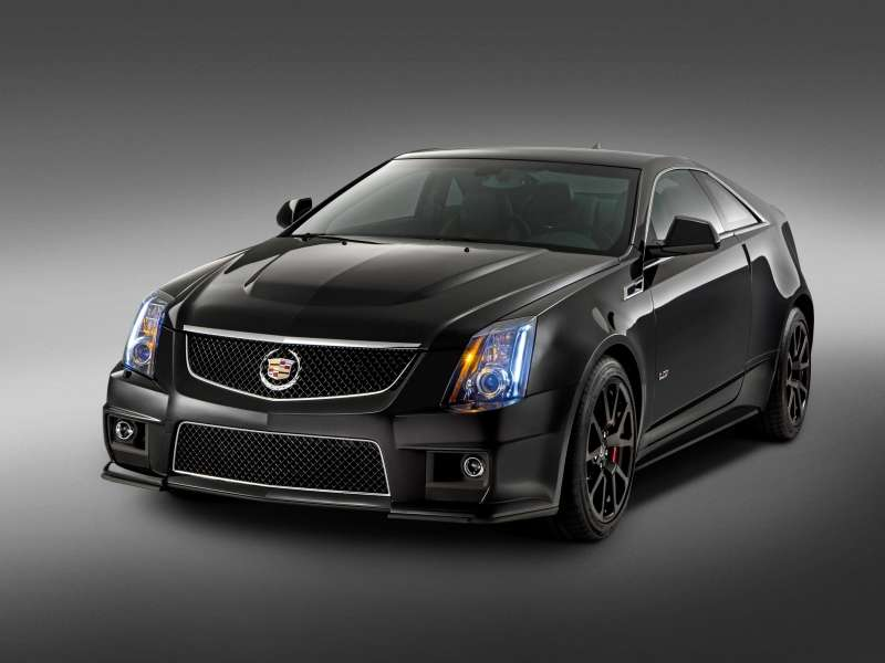 2015 Cadillac CTS-V Coupe Special Edition Honors Current-gen V-Series