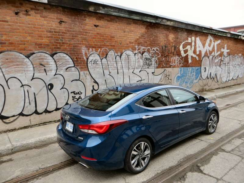2014 Hyundai Elantra Limited Review: Design