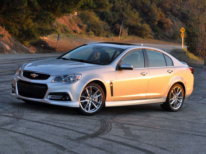 2014 Chevrolet SS Review And Quick Spin: Driving Impressions