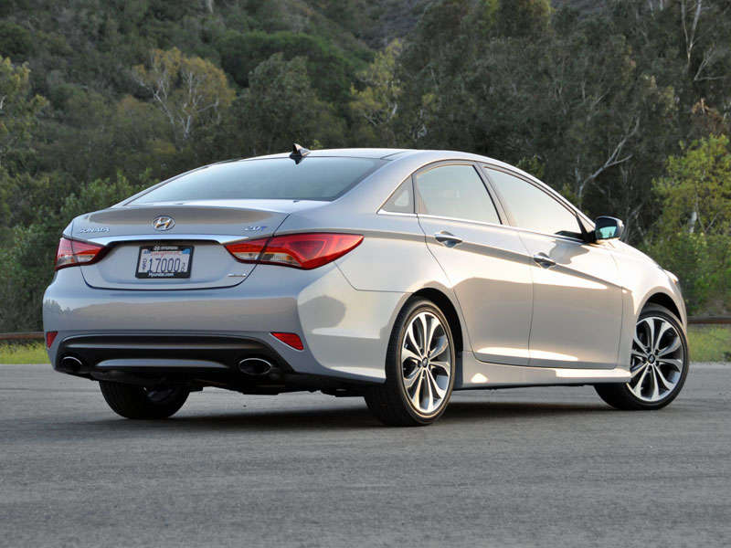 2014 Hyundai Sonata Review And Quick Spin: About Our Test Car
