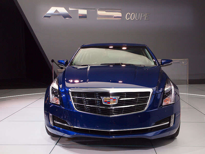 2015 cadillac ats coupe luxury car first drive. Black Bedroom Furniture Sets. Home Design Ideas