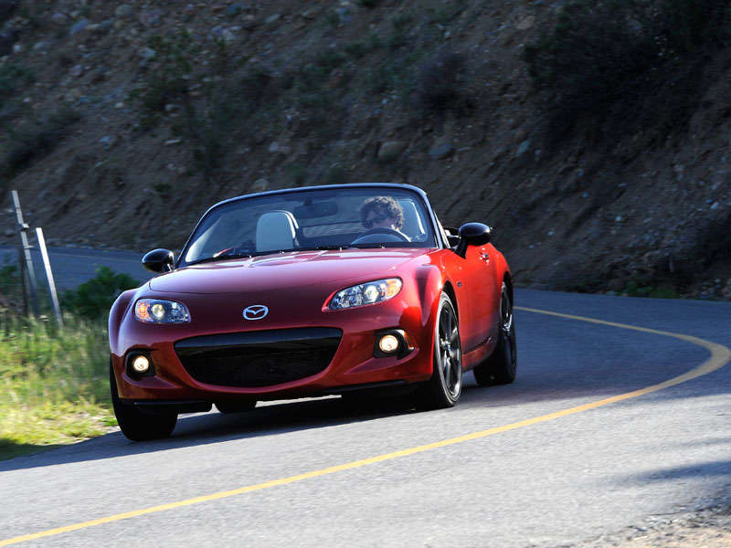 2015 Mazda MX-5 Miata Anniversary Edition: Gone in 600 Seconds