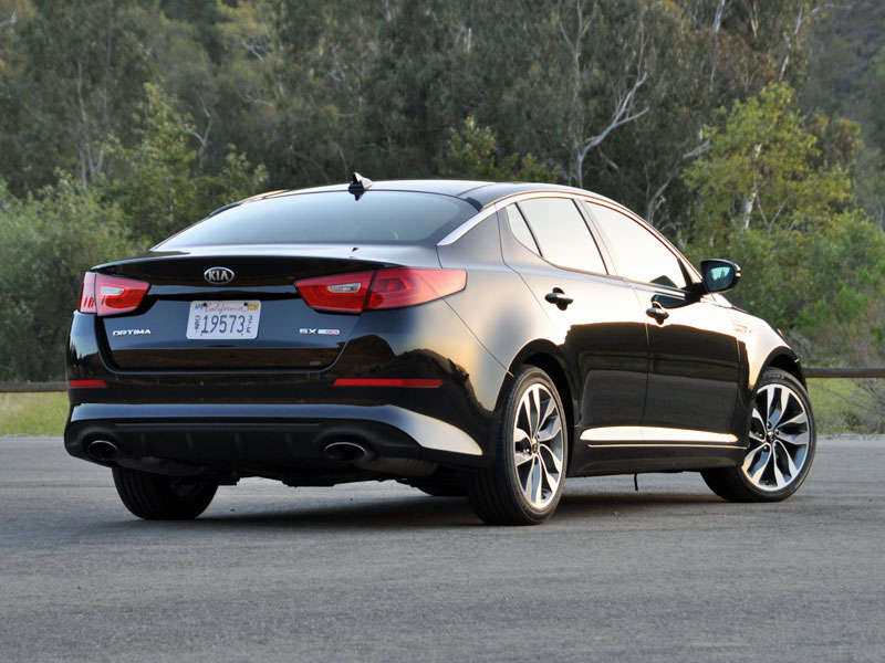 2014 Kia Optima Review And Quick Spin: About Our Test Car