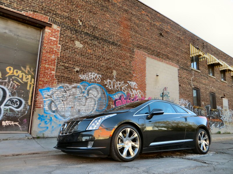 2014 Cadillac ELR Electric Car Quick Spin and Review