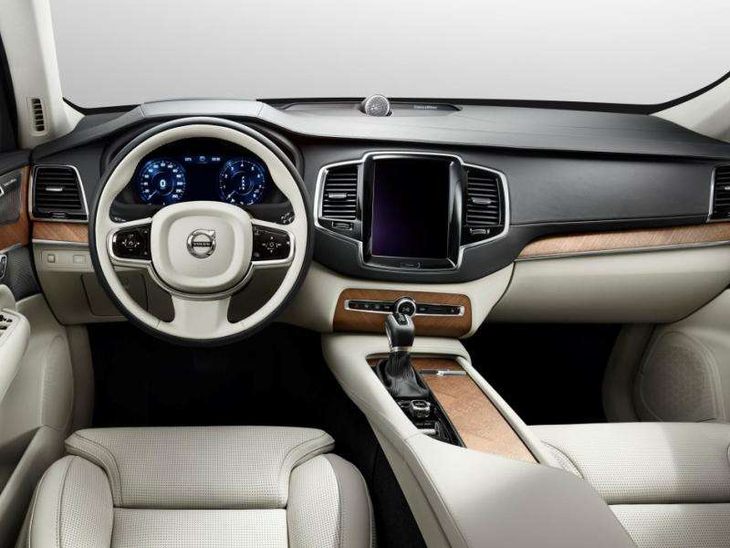 Redesigned 2015 Volvo XC90 Shows Lux New Interior