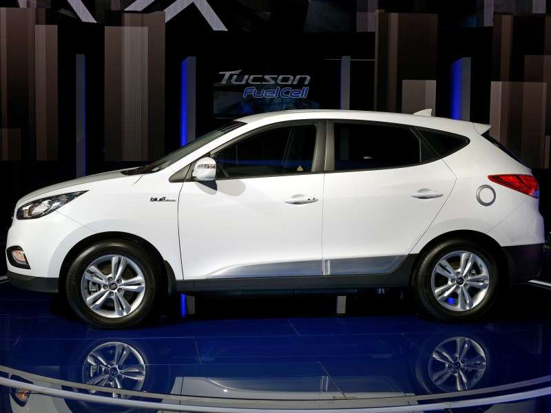 What Is The Hyundai Tucson Fuel Cell Autobytel Com