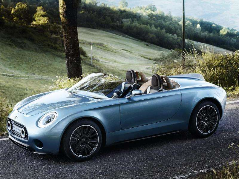 MINI Superleggera Vision Concept Debuts