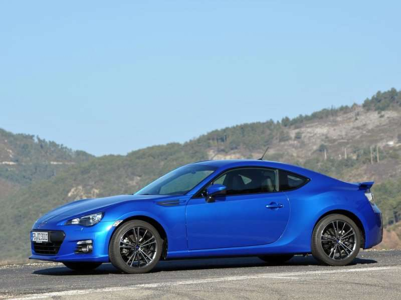 Subaru Updates the BRZ for 2015