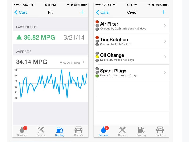 Car Apps For iPhone