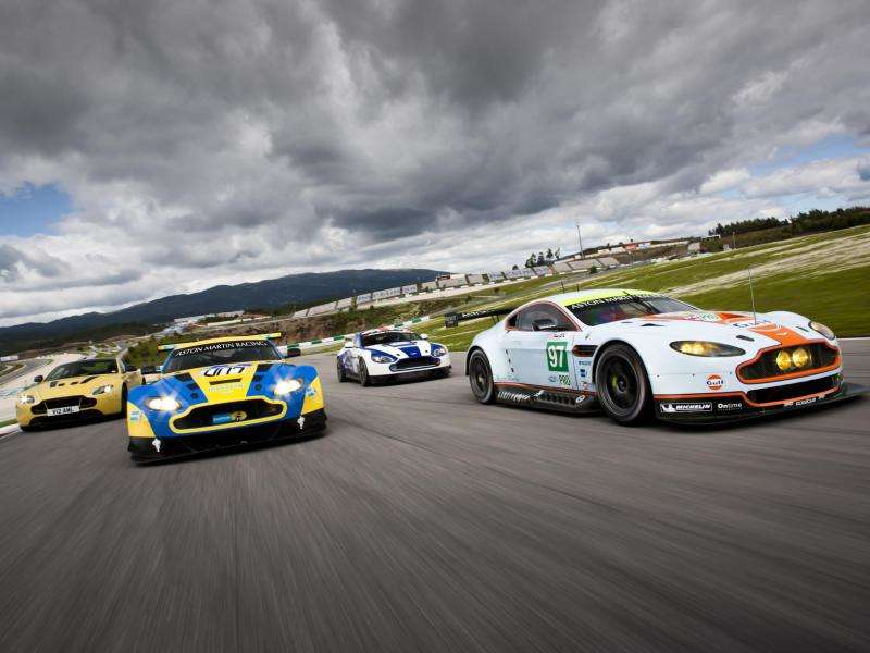 Aston Martin Heads to Nürburgring 24 Hours