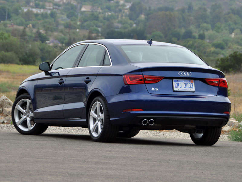Audi A Review And Quick Spin Autobytelcom - Audi a3 audi a4