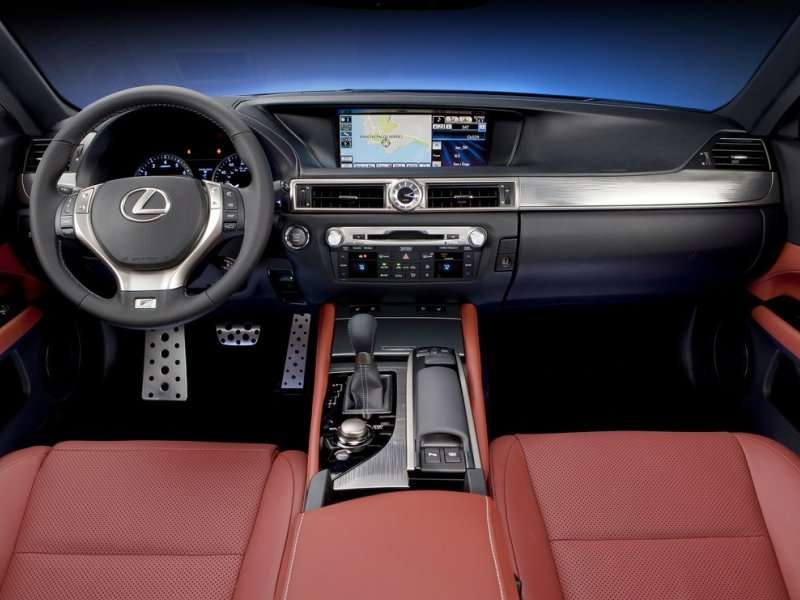 2014 Lexus GS 350 F Sport Road Test U0026 Review: Features U0026 Controls