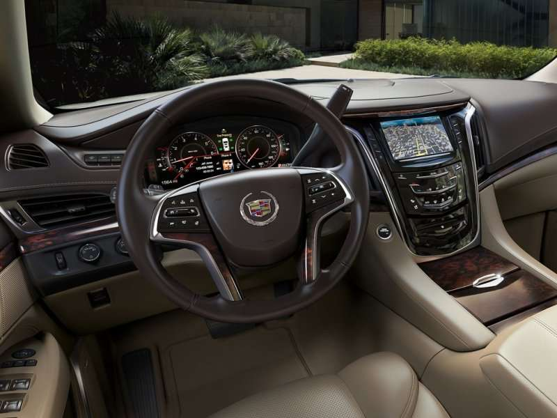 The 2017 Cadillac Escalade Maintains A Ious Interior
