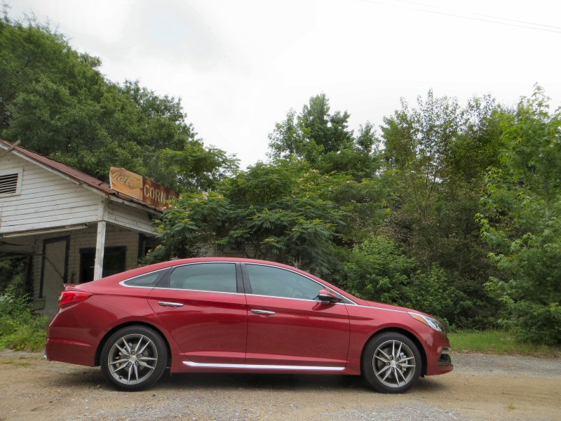2015 hyundai sonata mid size sedan first drive and review. Black Bedroom Furniture Sets. Home Design Ideas