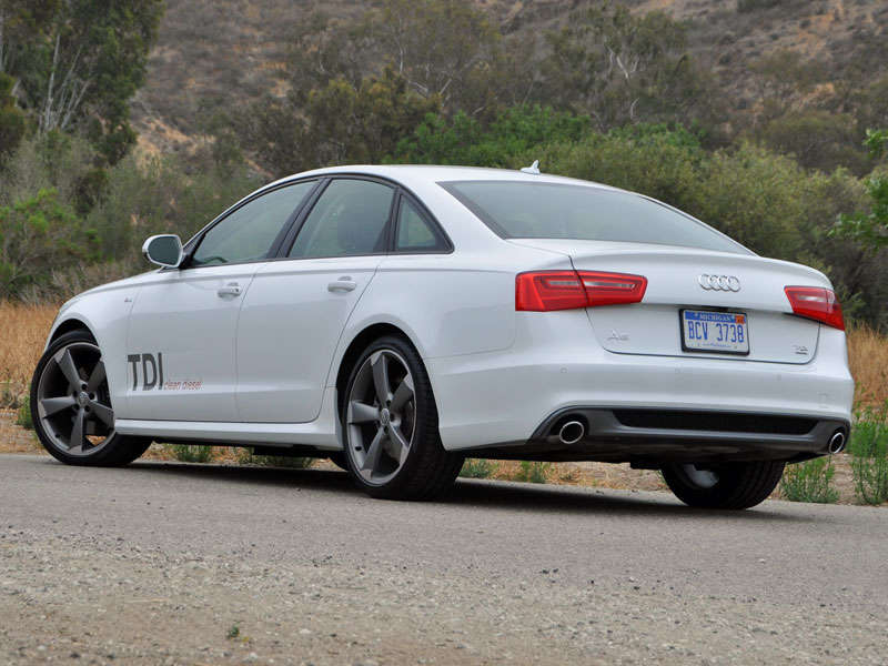 2014 audi a6 tdi clean diesel review and quick spin. Black Bedroom Furniture Sets. Home Design Ideas