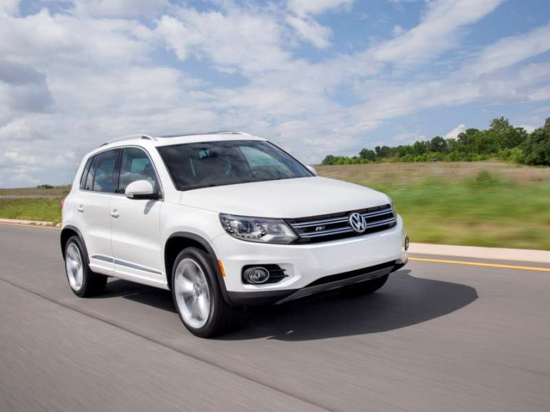 2014 Volkswagen Tiguan RLine Compact SUV Quick Spin and Review