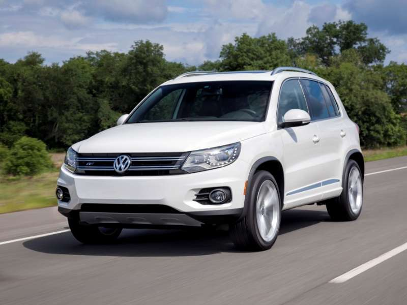 2014 Volkswagen Tiguan R Line Compact Suv Quick Spin And