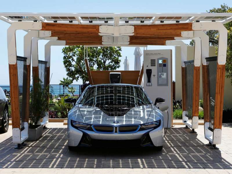 All About The BMW Solar Carport Concept