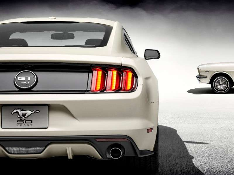 What Is The Mustang 50th Anniversary Edition?