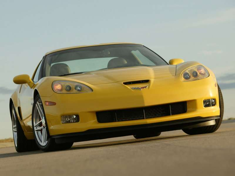 10 Best Used Sports Cars 04 2006 2007 Chevrolet Corvette Z06