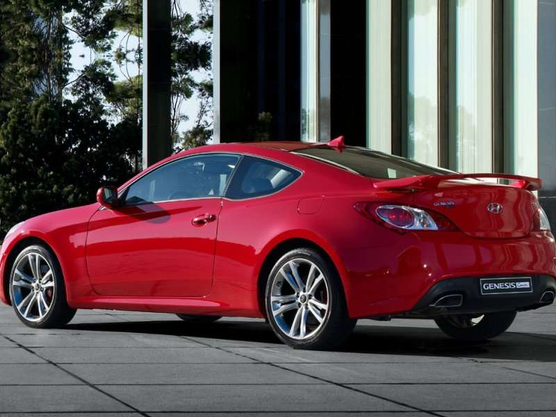 Best Used Sports Cars  Hyundai Genesis Coupe  T R Spec