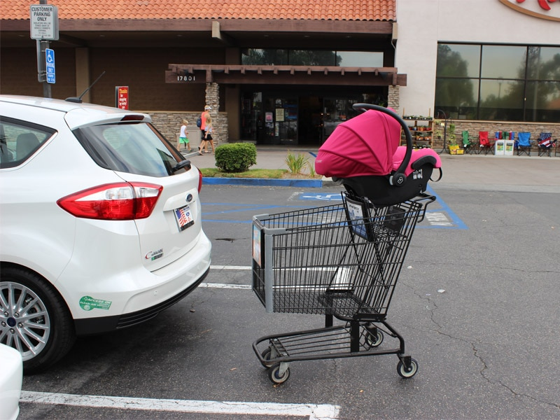 Nine Places to Never Put a Car Seat