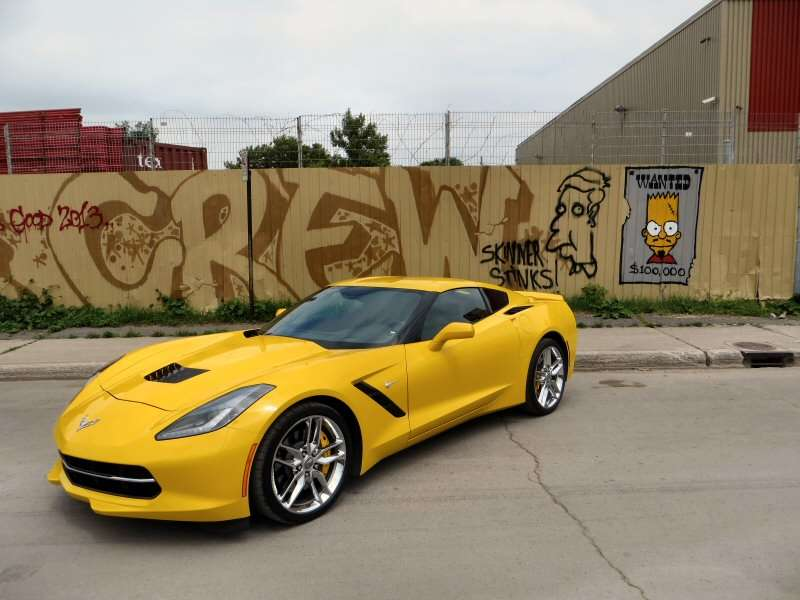 2017 Chevrolet Corvette Stingray Sports Car Quick Spin And Review