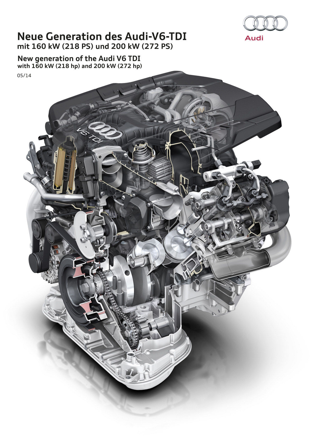 All About The Latest Audi 3.0 TDI Engine