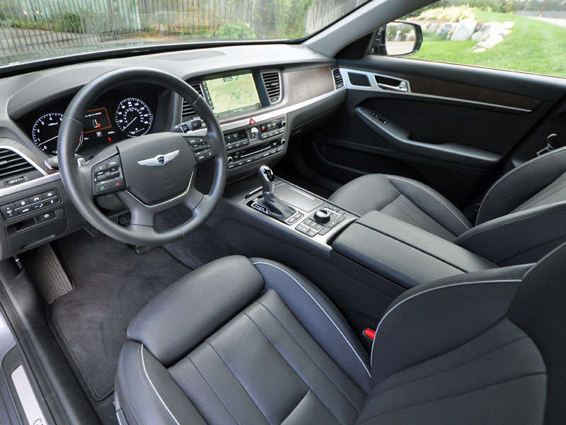 Great 2015 Hyundai Genesis 3.8 Review And Quick Spin: Front Seat Comfort