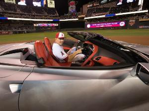 Trout Hooks 2014 Chevy Corvette Stingray as All-Star MVP
