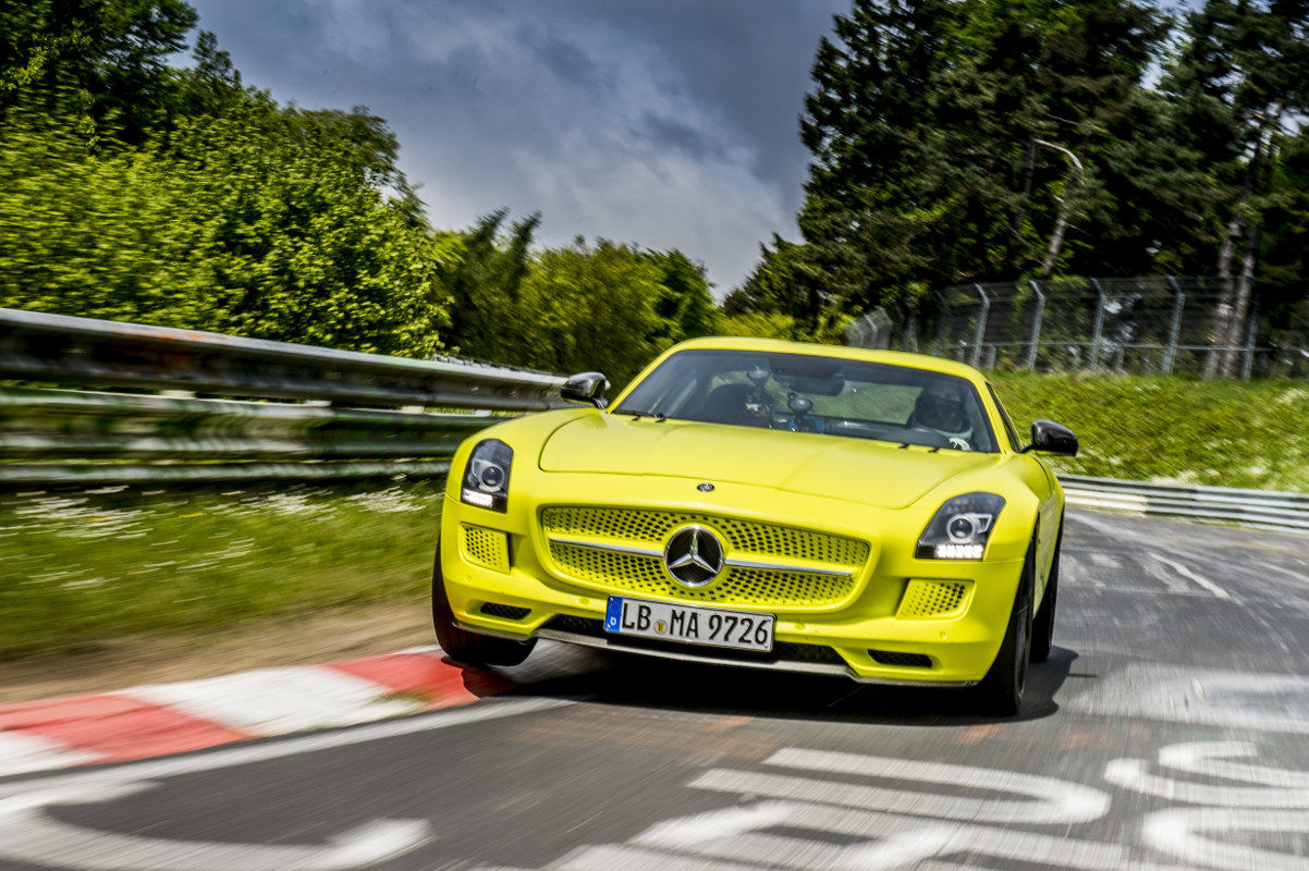 4 Mercedes Benz Sls Amg Coupe Electric Drive