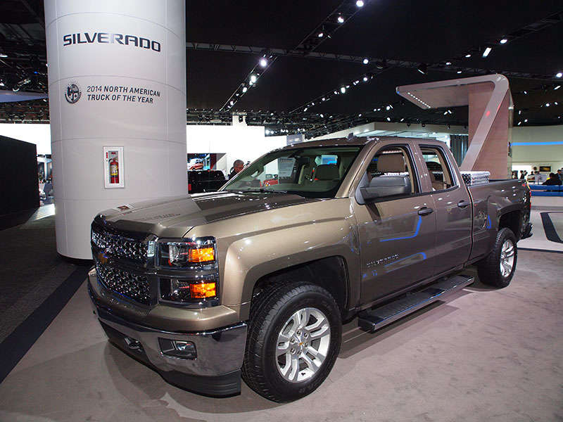 2015 Chevy Silverado 1500 Brings 8-Speed Auto to GM Full-size Trucks