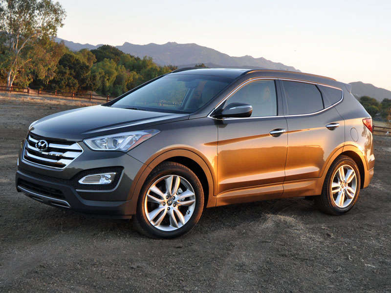 Tucson Used Auto Sales >> 2015 Hyundai Santa Fe Sport Test Drive and Video Review ...