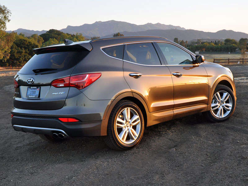 Awesome 2014 Hyundai Santa Fe Sport Crossover SUV Review: About Our Test Car