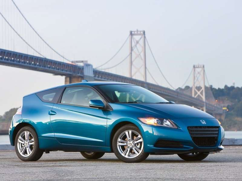 10 Japanese Sports Cars   02   2014 Honda CR Z