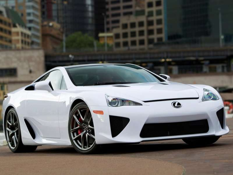 Charming 10 Japanese Sports Cars   08   Lexus LFA