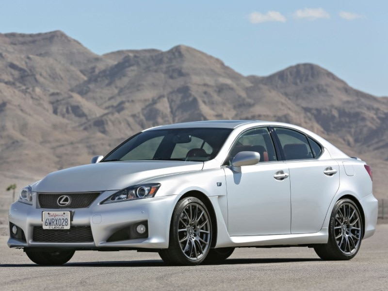 10 Japanese Sports Cars   04   2014 Lexus IS F