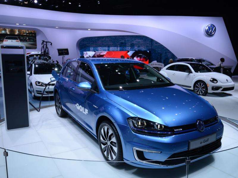 Volkswagen Partners with Bosch for 2015 VW Golf EV