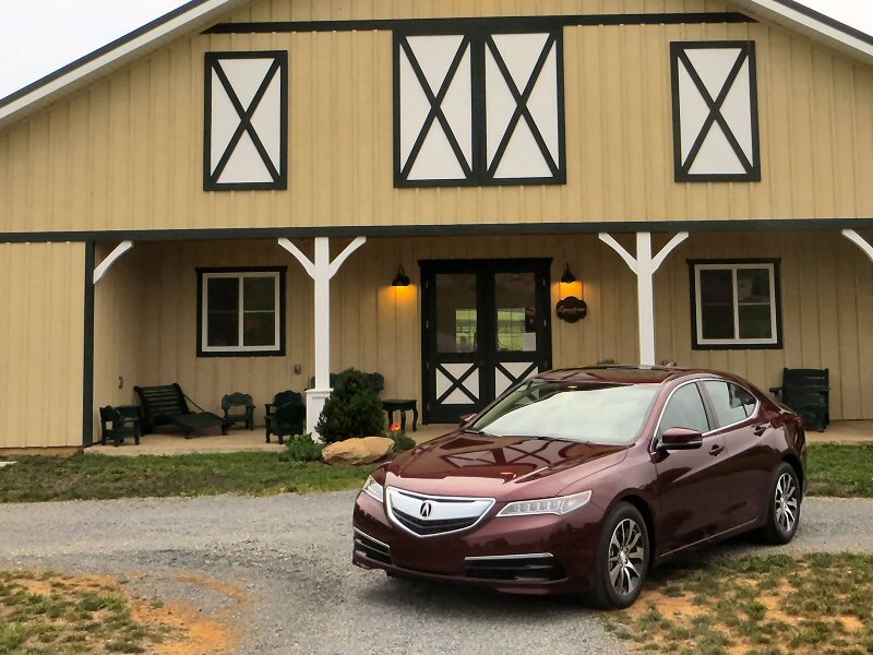 2015 Acura TLX Luxury Sedan First Drive and Review