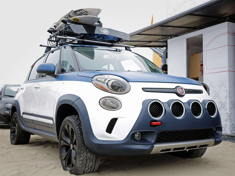 Fiat 500L-Vans Concept Makes Waves at U.S. Surf of Open | Autobytel.com