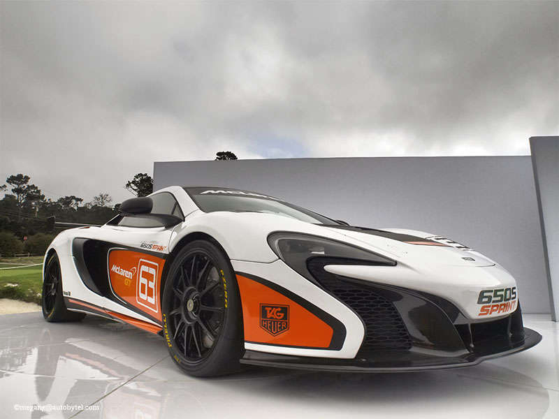 McLaren 650S Sprint Heads Off To Pebble Beach