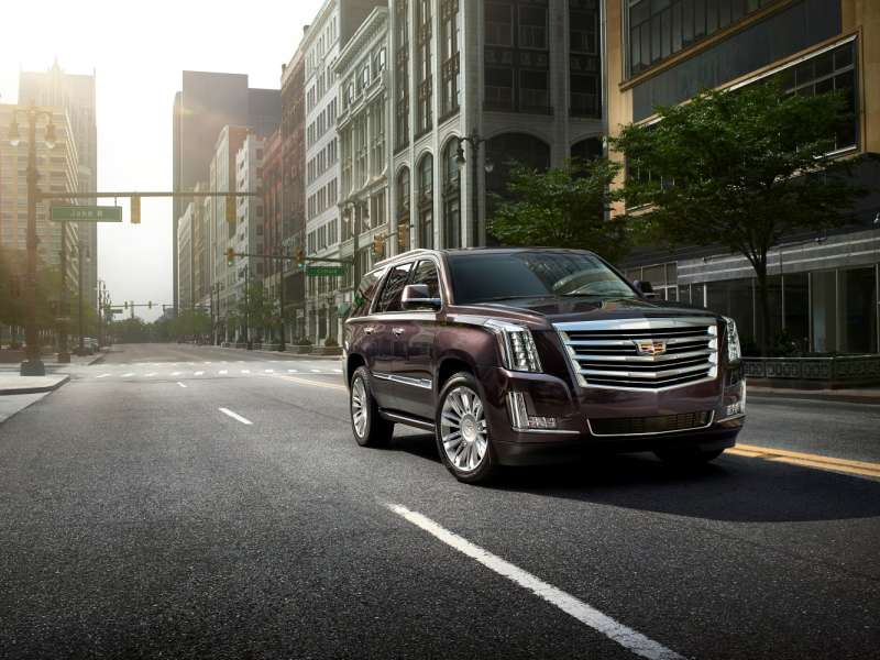 Platinum Collection Premieres for 2015 Cadillac Escalade