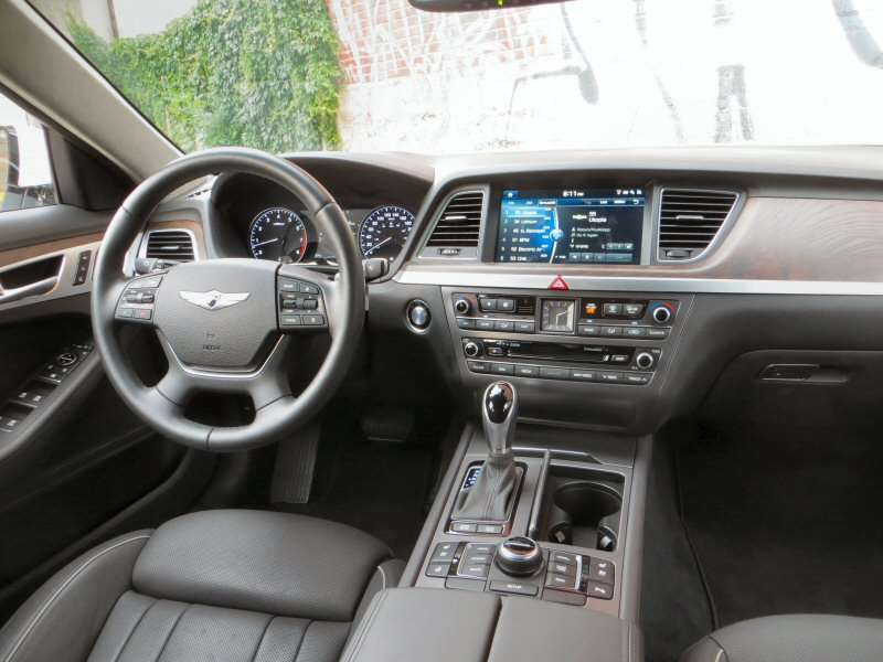 2015 Hyundai Genesis Black Interior Images Galleries With A Bite