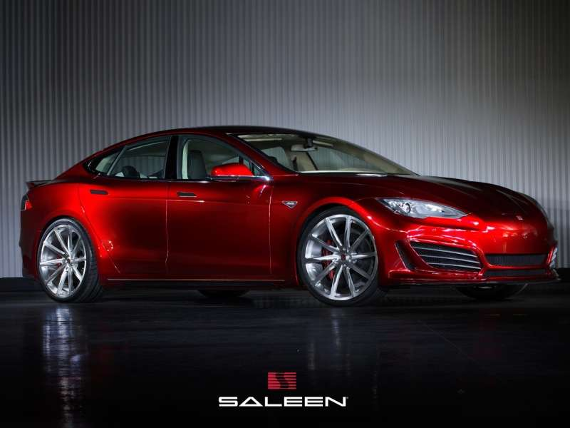Saleen Tunes the Tesla Model S
